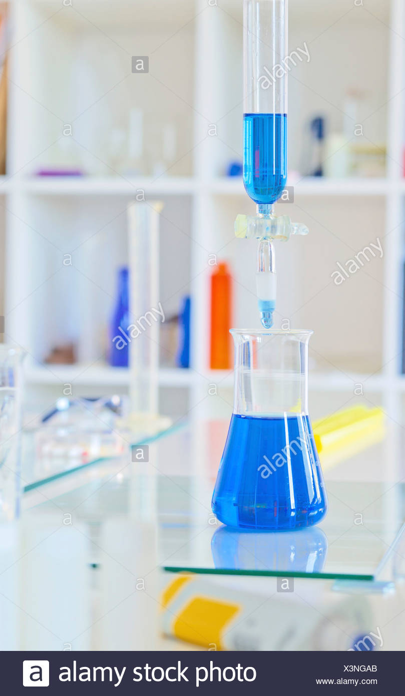 Chemistry research - Stock Image