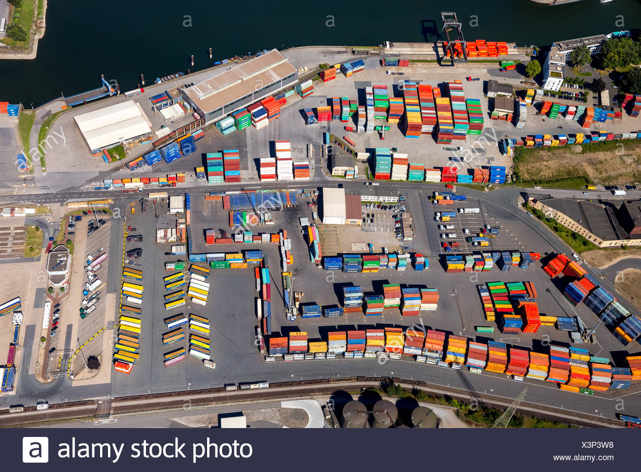 Inland Container Port Stock Photos & Inland Container Port