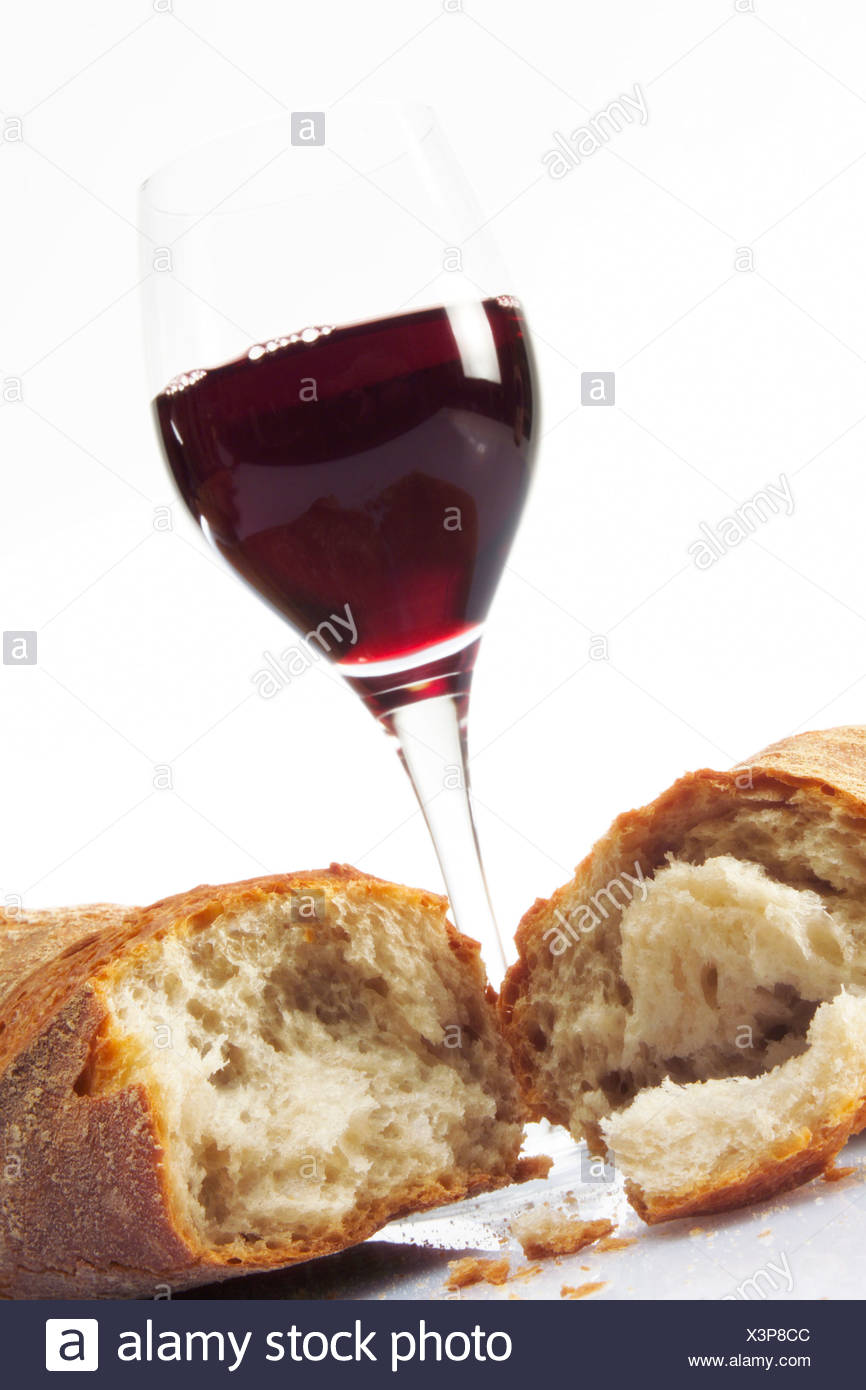 Wein Cc wine baguette stock photos wine baguette stock