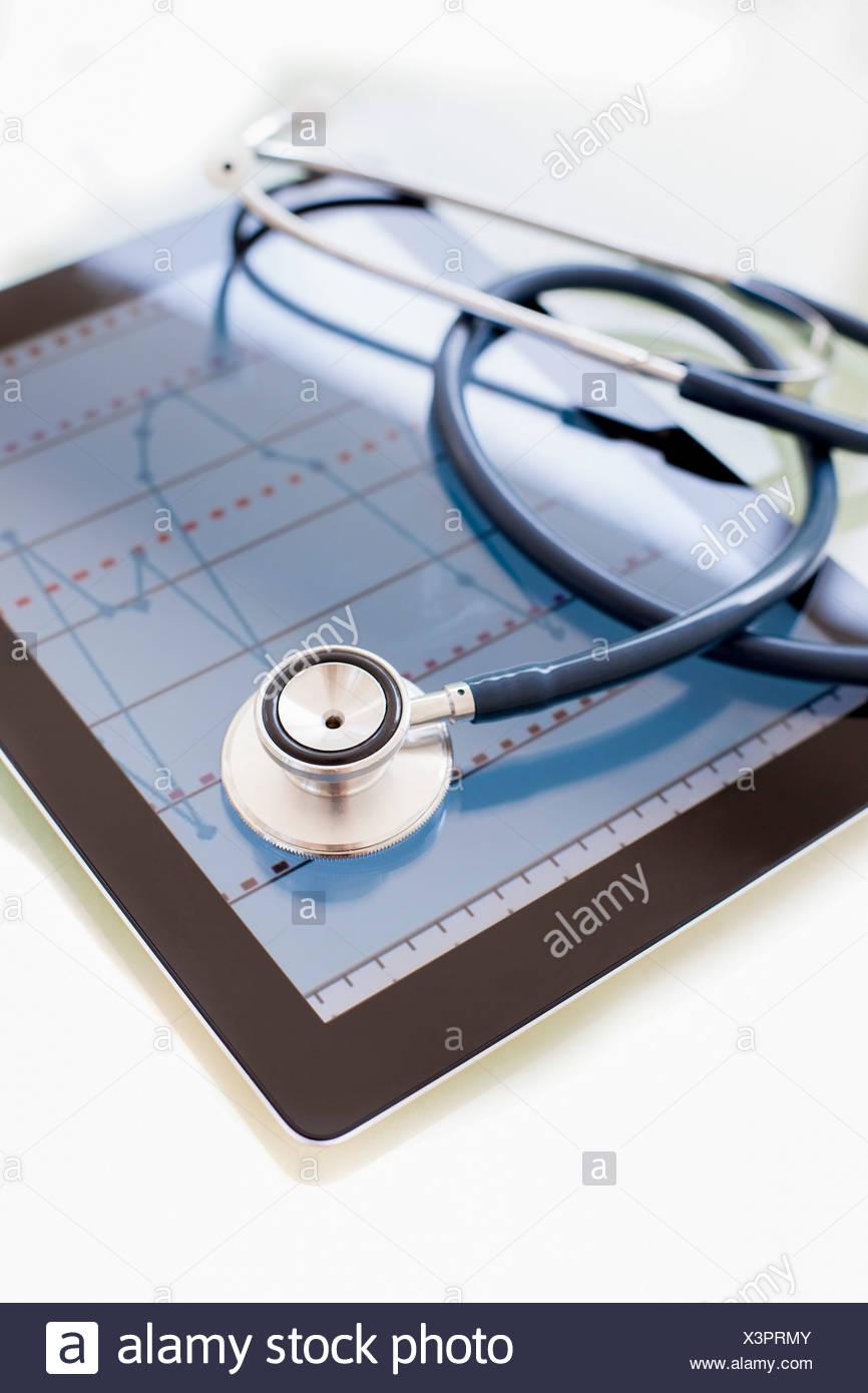 Telemedicine, conceptual image - Stock Image