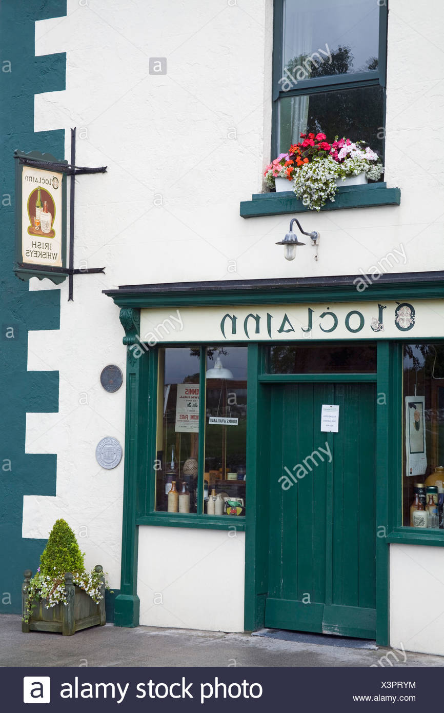 Exterior Of Pub In Ballyvaughan, County Clare, Ireland - Stock Image