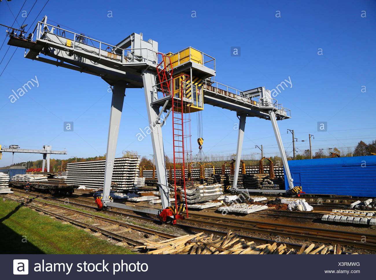 crane - Stock Image