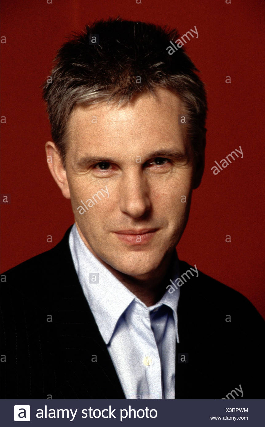 Bangs, Alan, * 1951, British music journalist, presenter, portrait, 1997, Additional-Rights-Clearances-NA - Stock Image