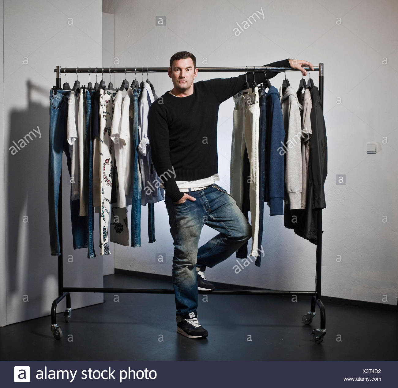 Michael Michalsky, fashion designer, Berlin - Stock Image