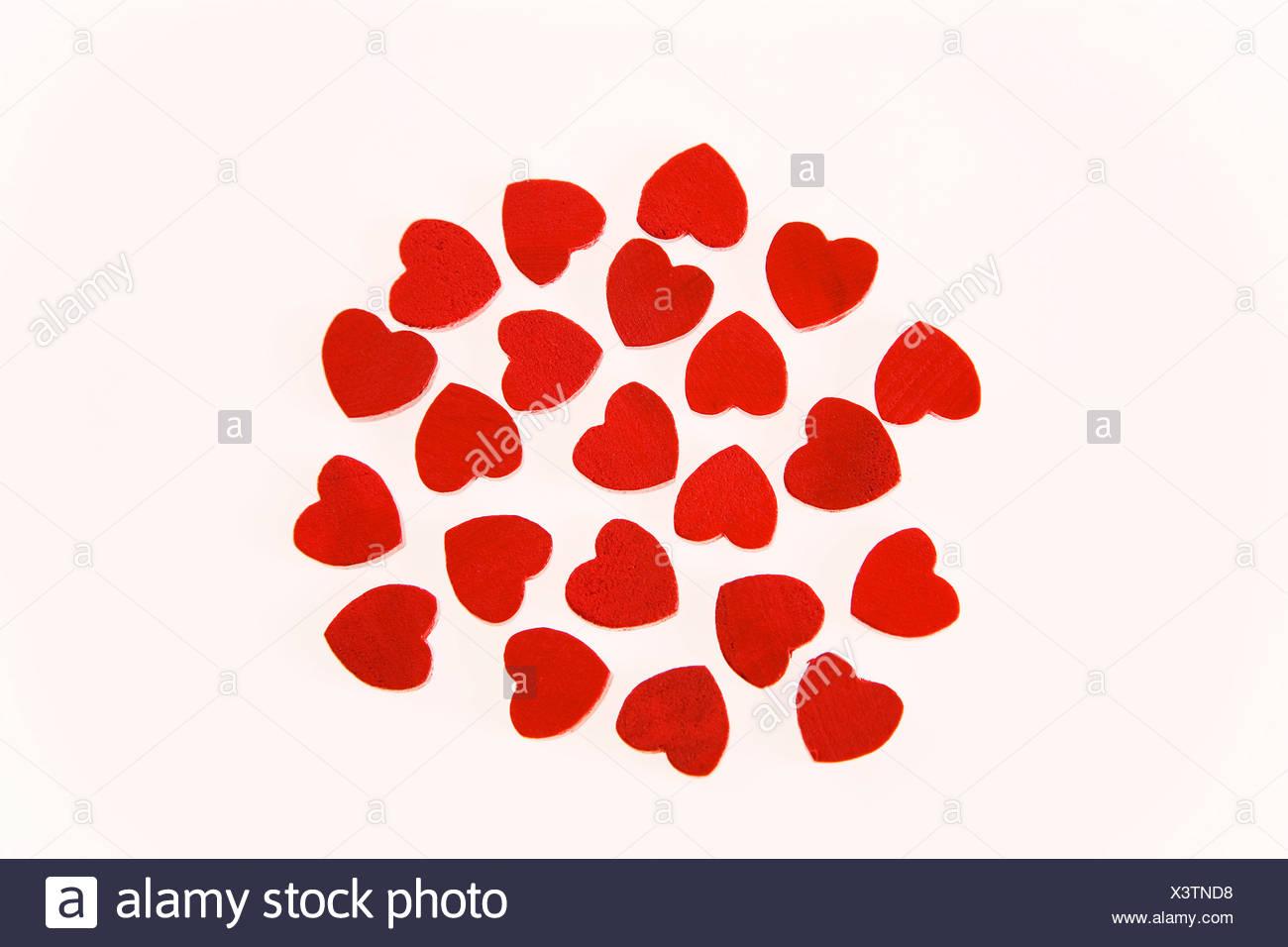 Genre Gift Heart In love Love Loving Red Concept Studio - Stock Image