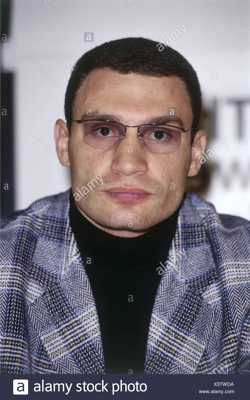 Klitschko, Vitali, * 19.6.1971, Ukrainian athlete (boxer), portrait, 1998, Additional-Rights-Clearances-NA - Stock Image