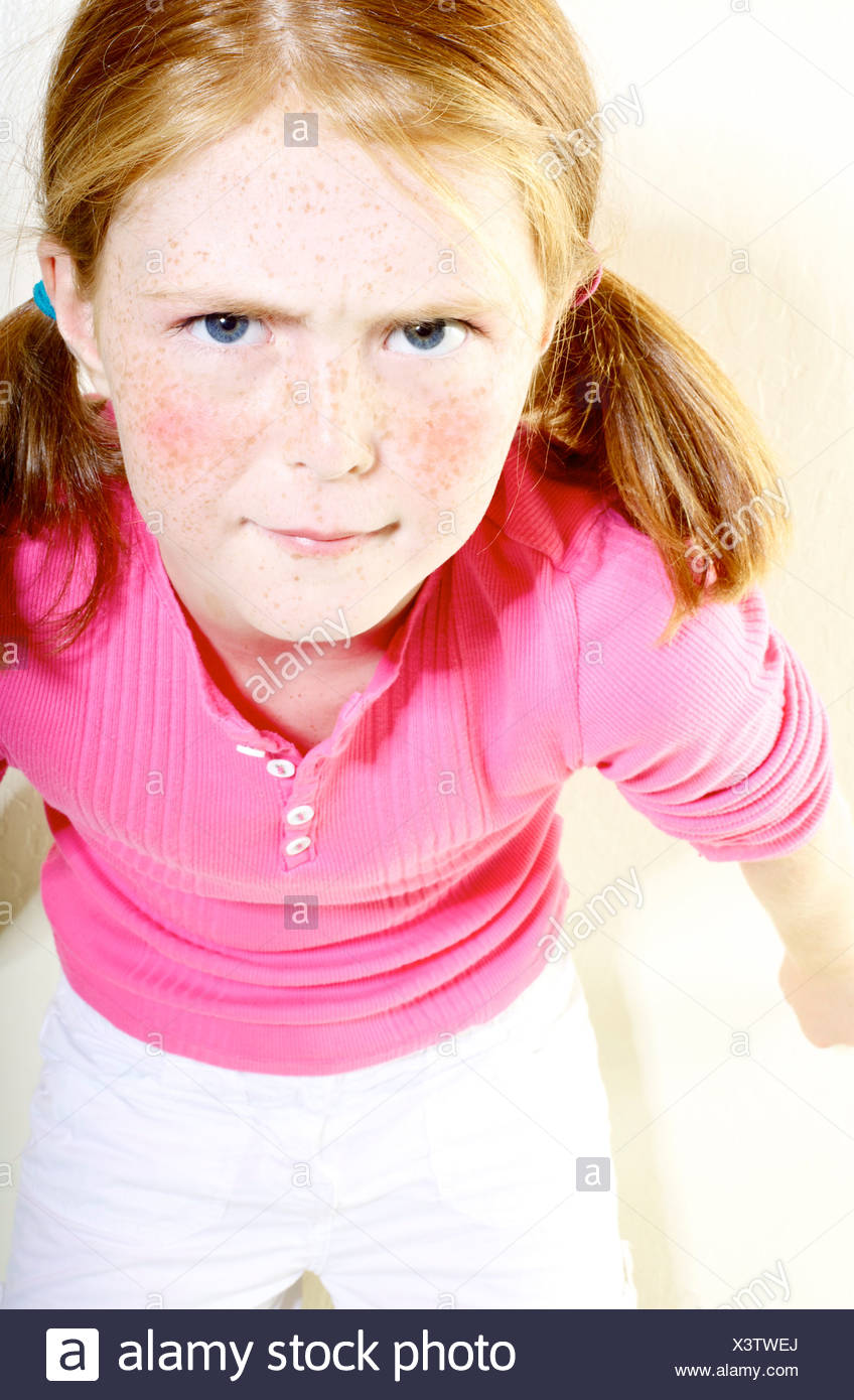 Will redhead pigtails young teen girl