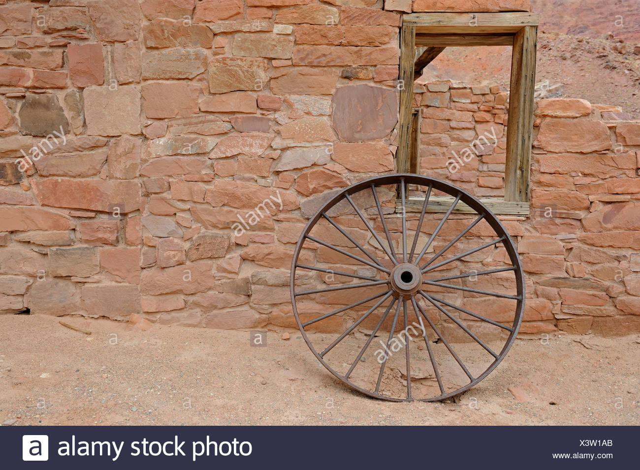 Iron Wheel Wagon High Resolution Stock Photography And Images Alamy