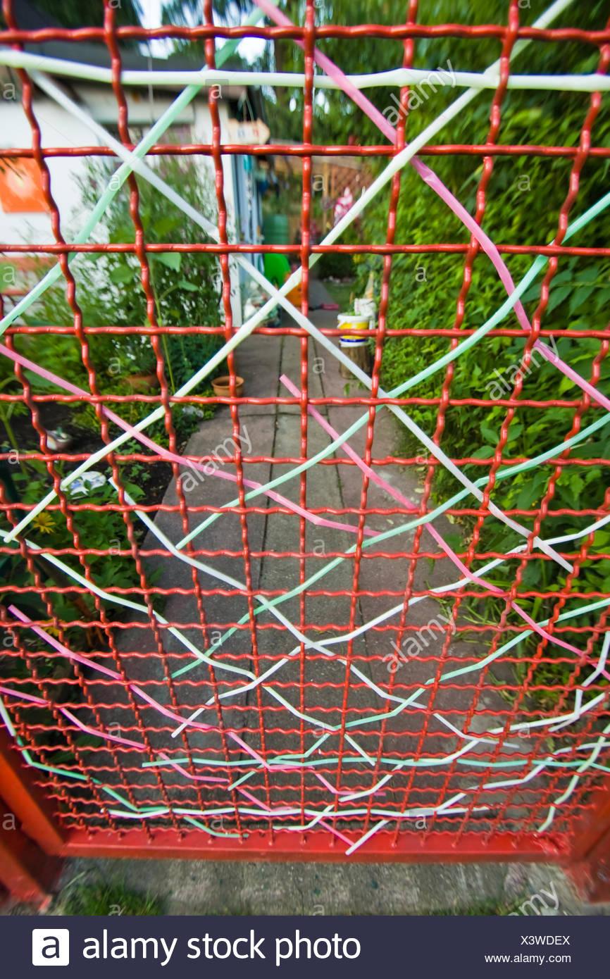 fence, grid Stock Photo