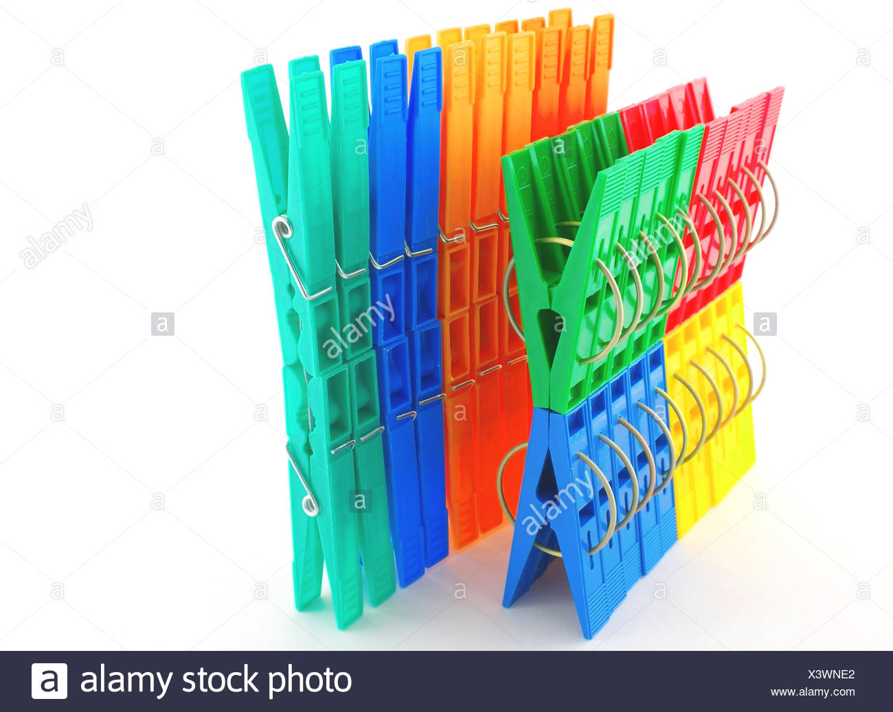 objects, plastic, synthetic material, peg, blue, objects