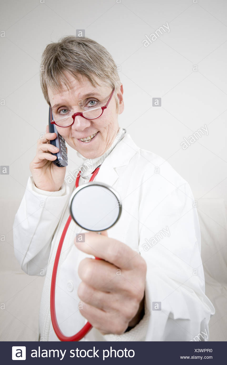 request for ascultate - Stock Image