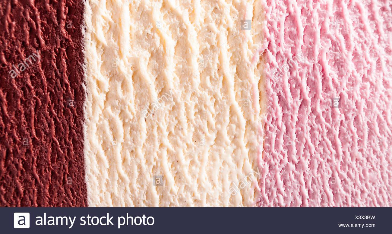 Horizontal Close Up Of Strawberry Chocolate Fudge And
