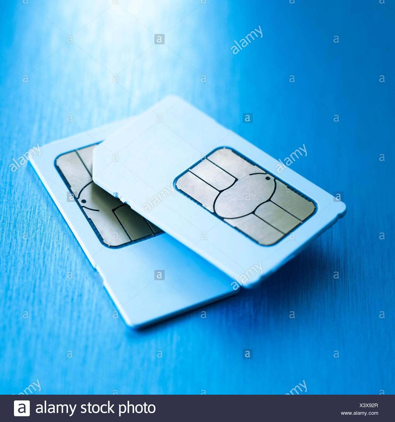 SIM cards - Stock Image
