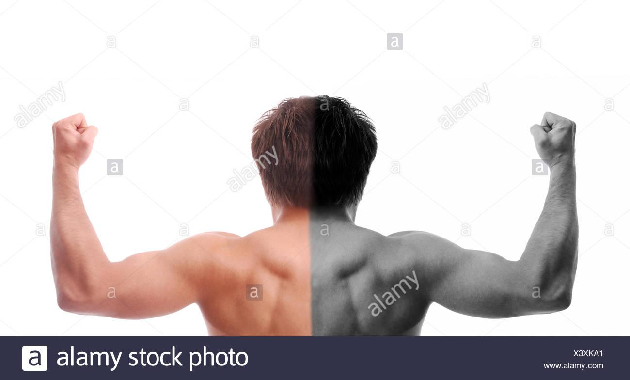 humans human beings people folk persons human human being men man studio - Stock Image