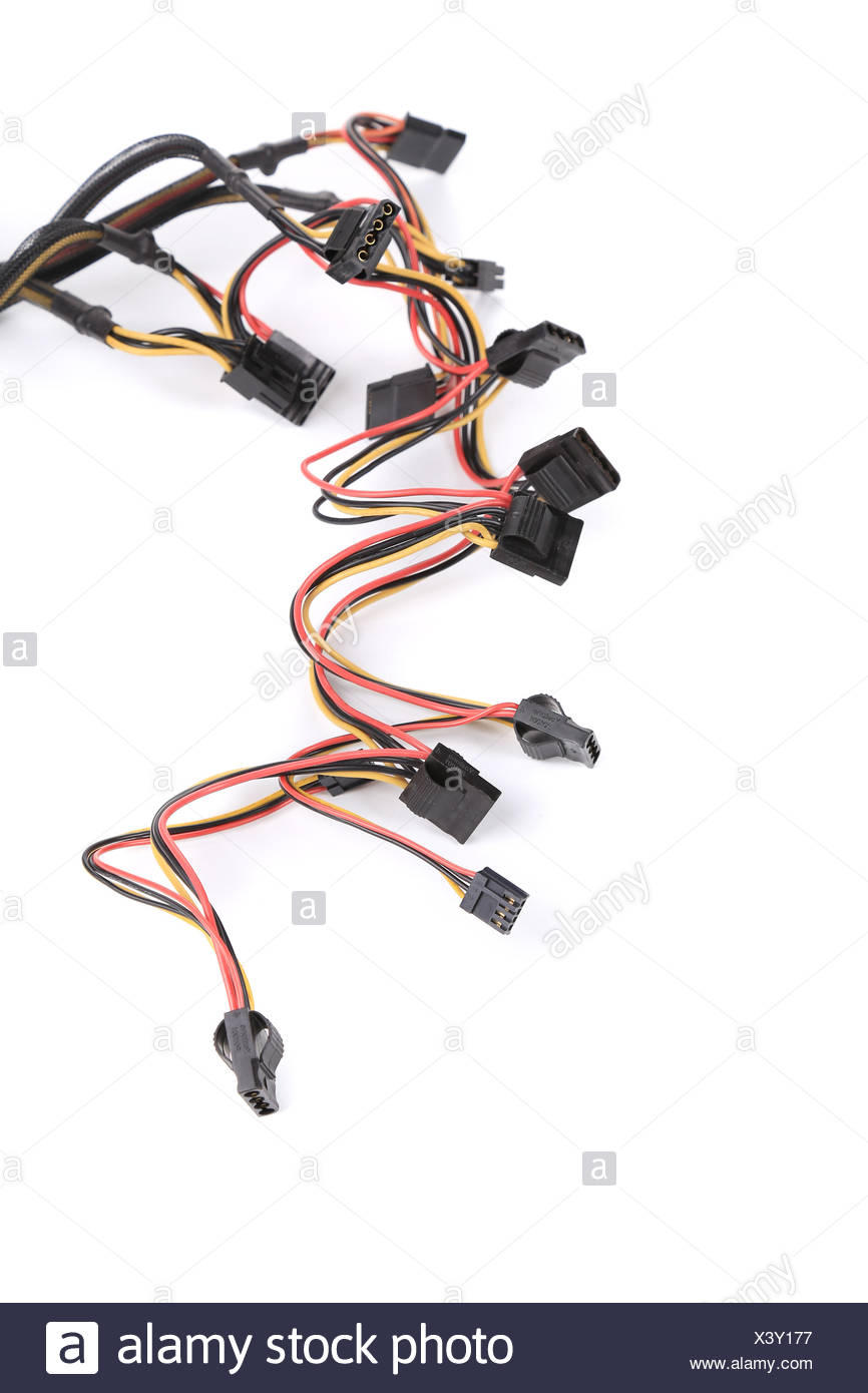 Computer connection plugs Stock Photo: 277803547 - Alamy