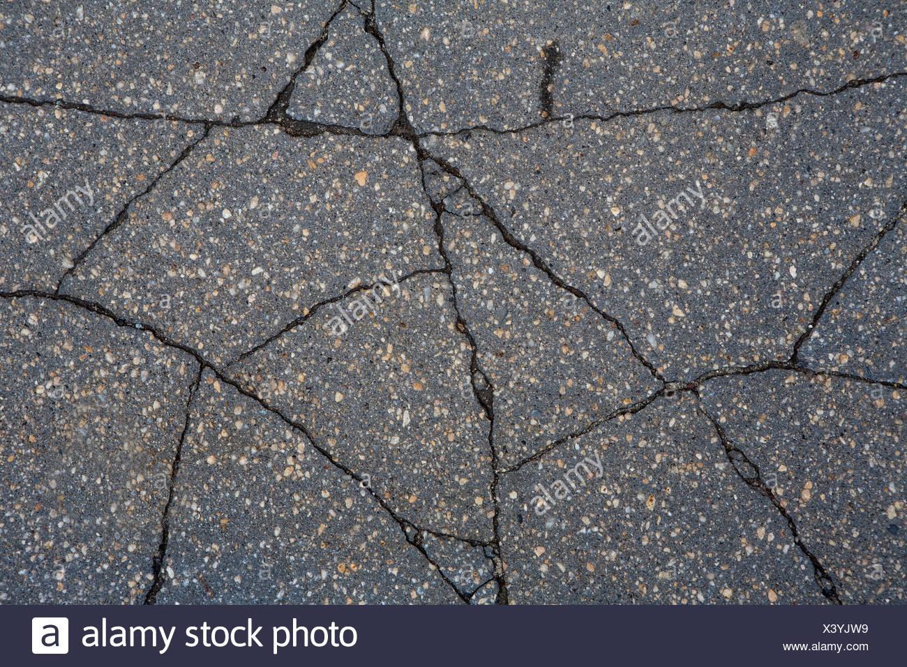 Cracked Concrete Stock Photos & Cracked Concrete Stock