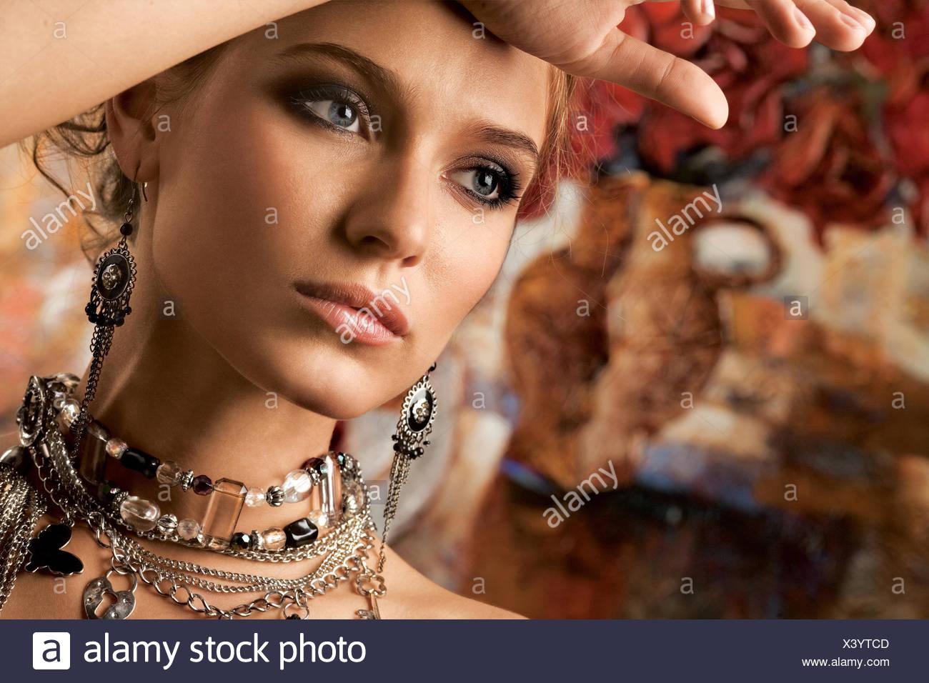 Glamorous Woman - Stock Image