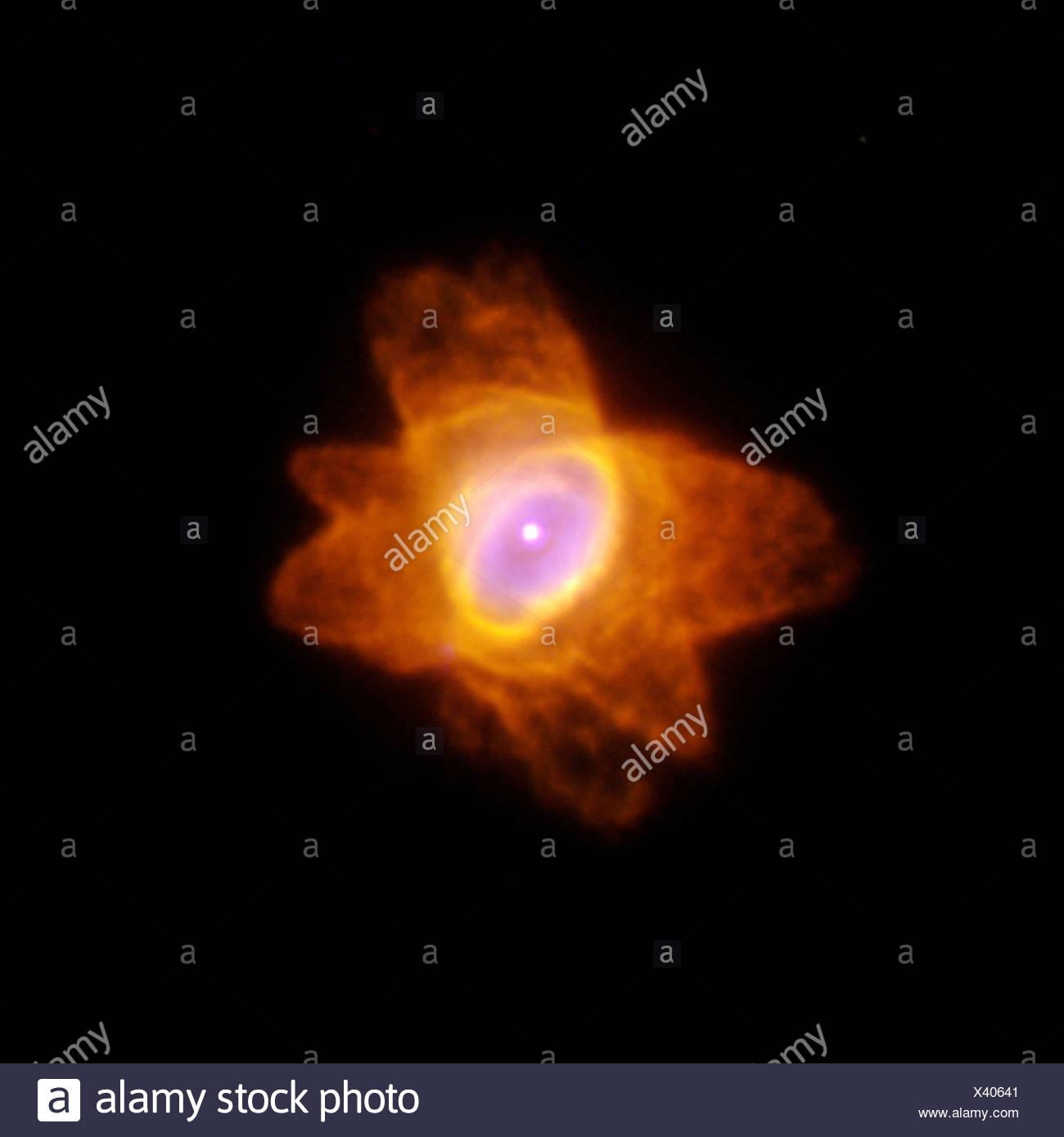 He 2-47, the 'Starfish Nebula' - Stock Image