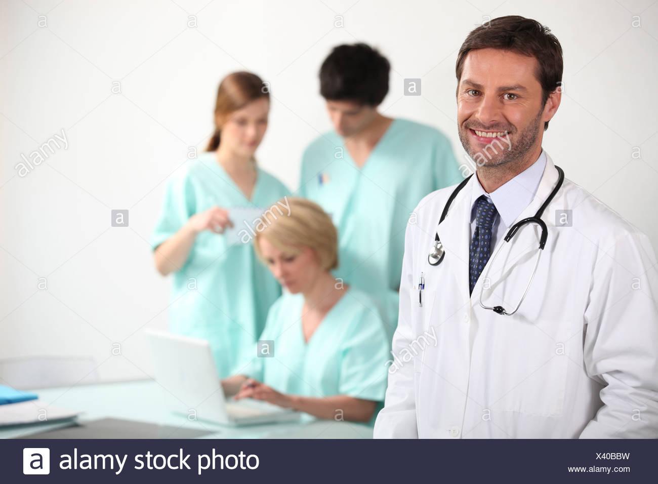 Bbw Nurse doctor and nurses stock photo: 277833469 - alamy