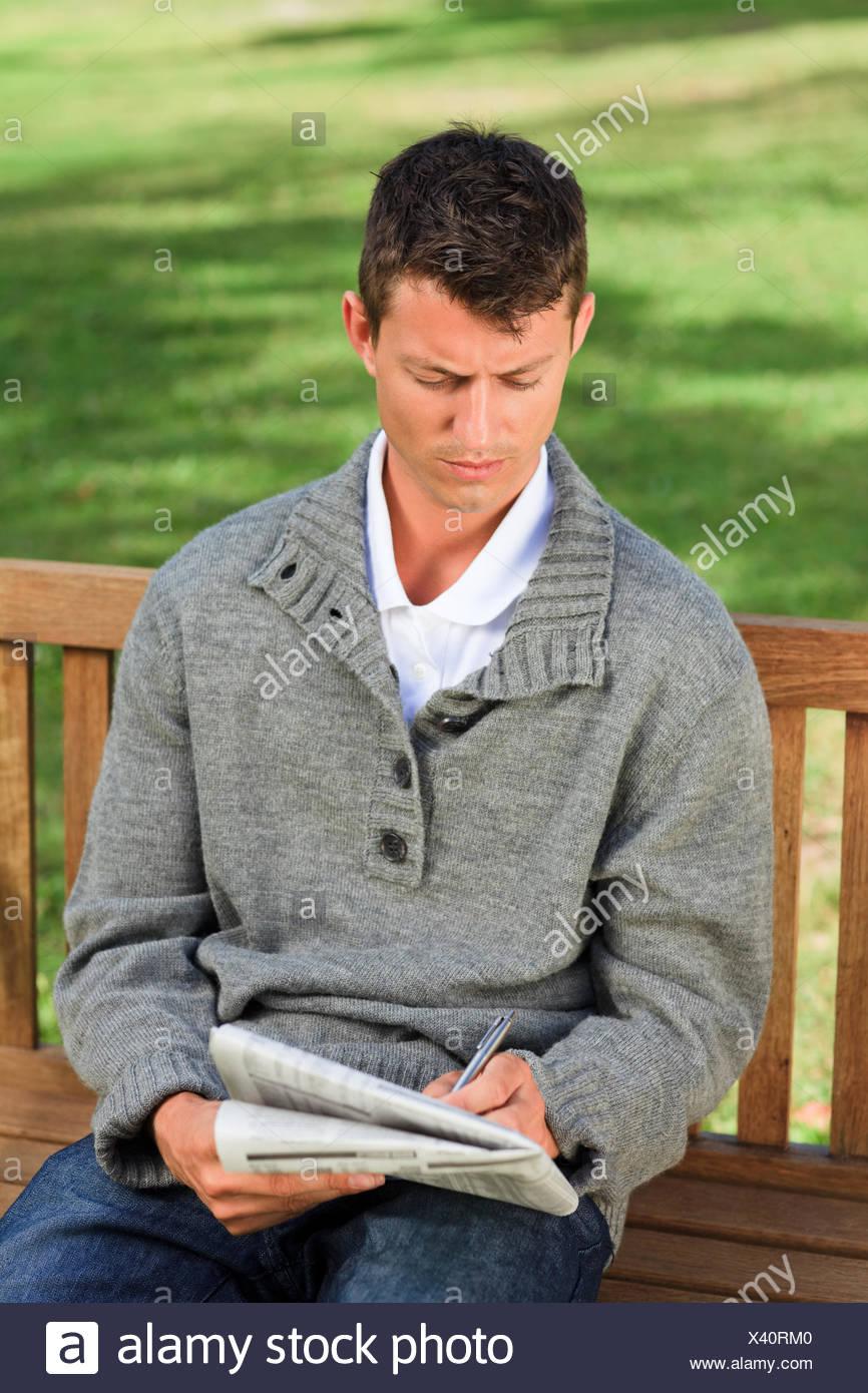 very attractive man crossword