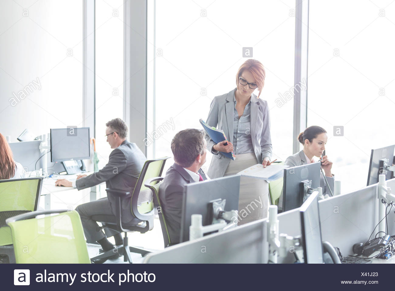 Open plan office stock photos open plan office stock images alamy