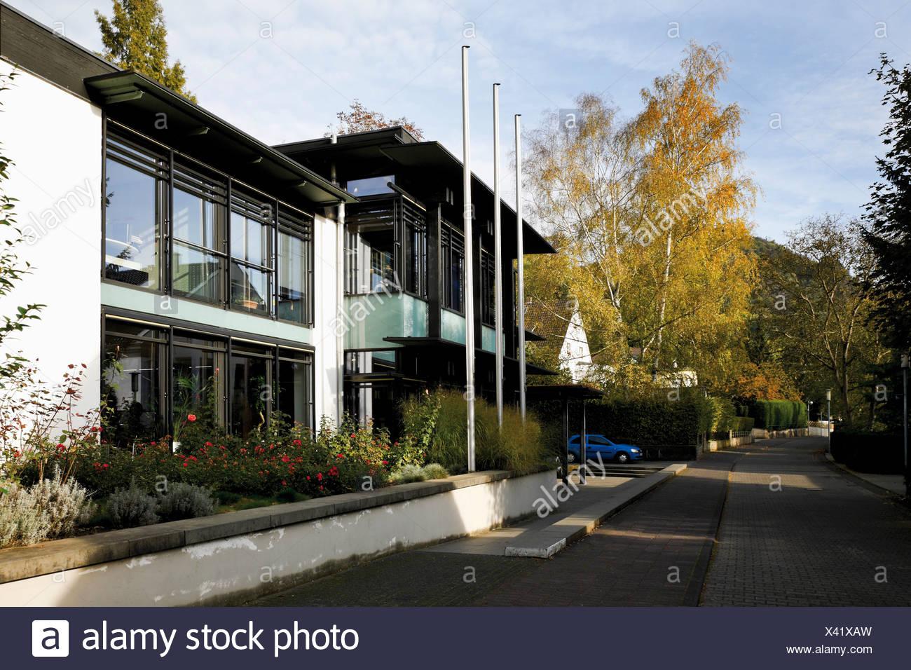 Stiftung Bundeskanzler-Adenauer-Haus Foundation Federal Chancellor Adenauer House, Rhoendorf, district of Bad Honnef, - Stock Image