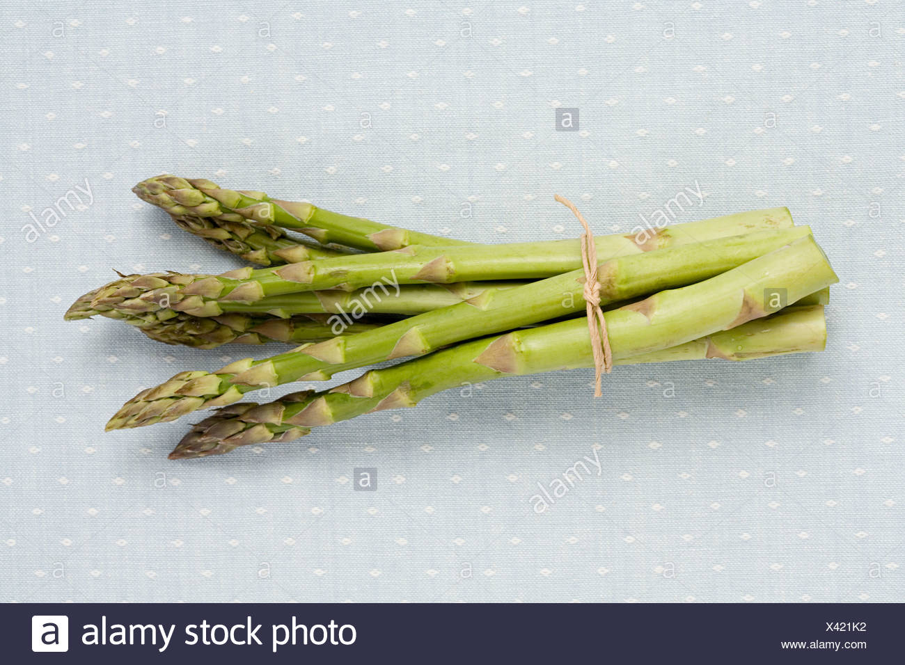 Bunch of asparagus - Stock Image