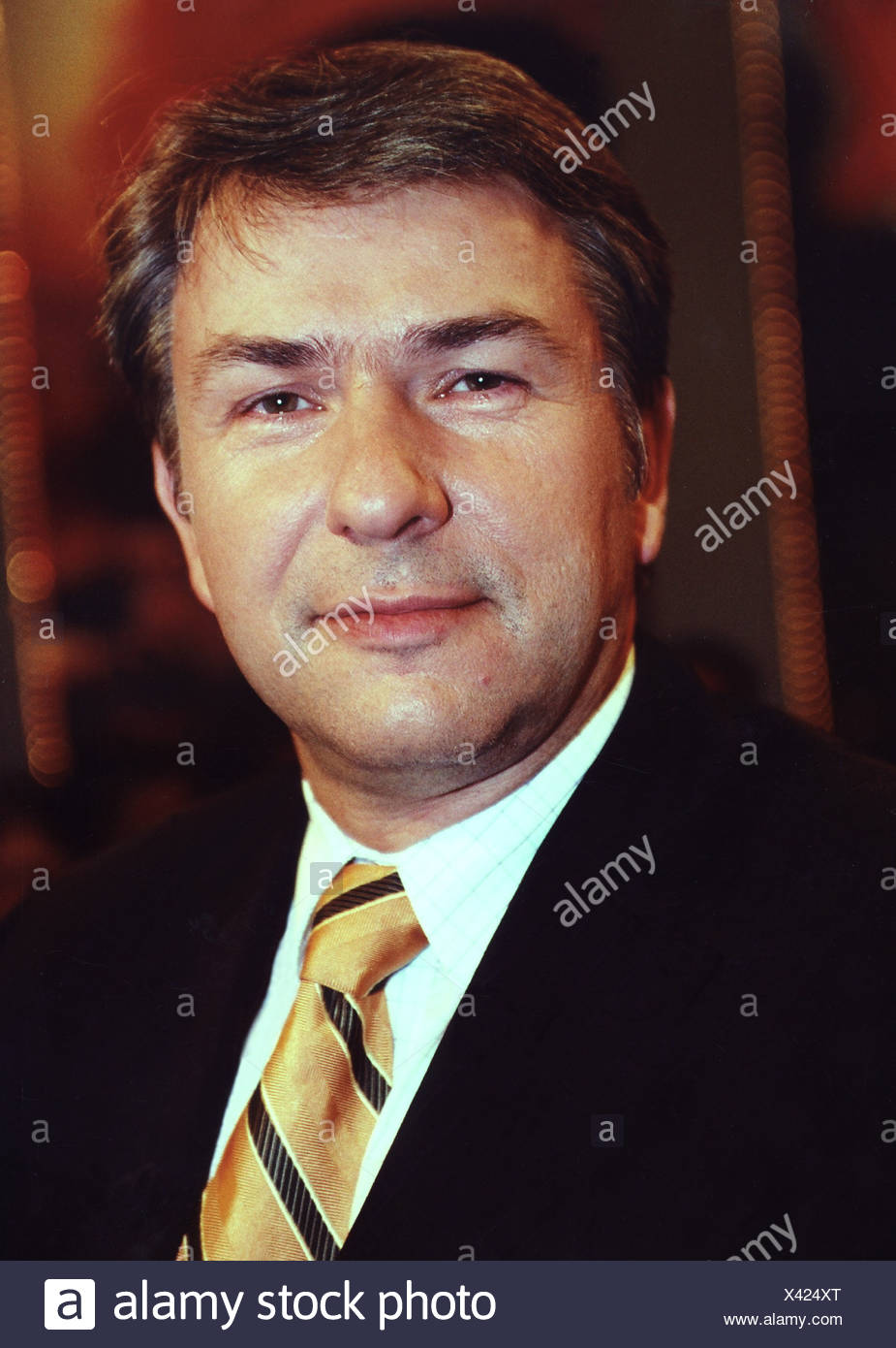 Wowereit, Klaus, * 1.10.1953, German politician (SPD), portrait, 2002, Stock Photo