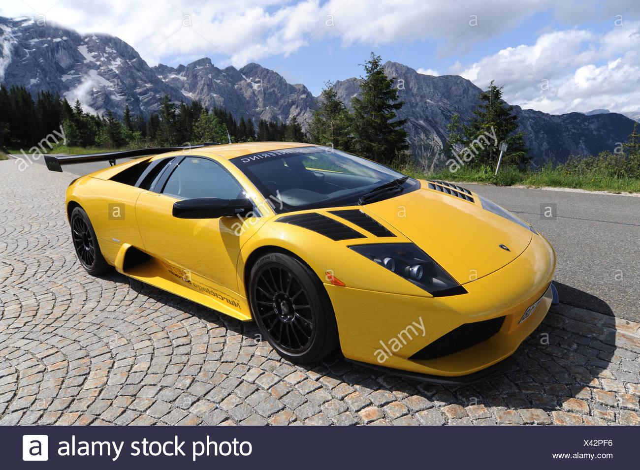 Reiter Lamborghini Murcielago Strada GT, Racing Car With Road Use  Homolgation, Bad Reichenhall,