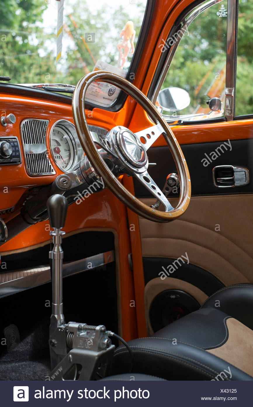 Interior Volkswagen Beetle High Resolution Stock Photography And Images Alamy