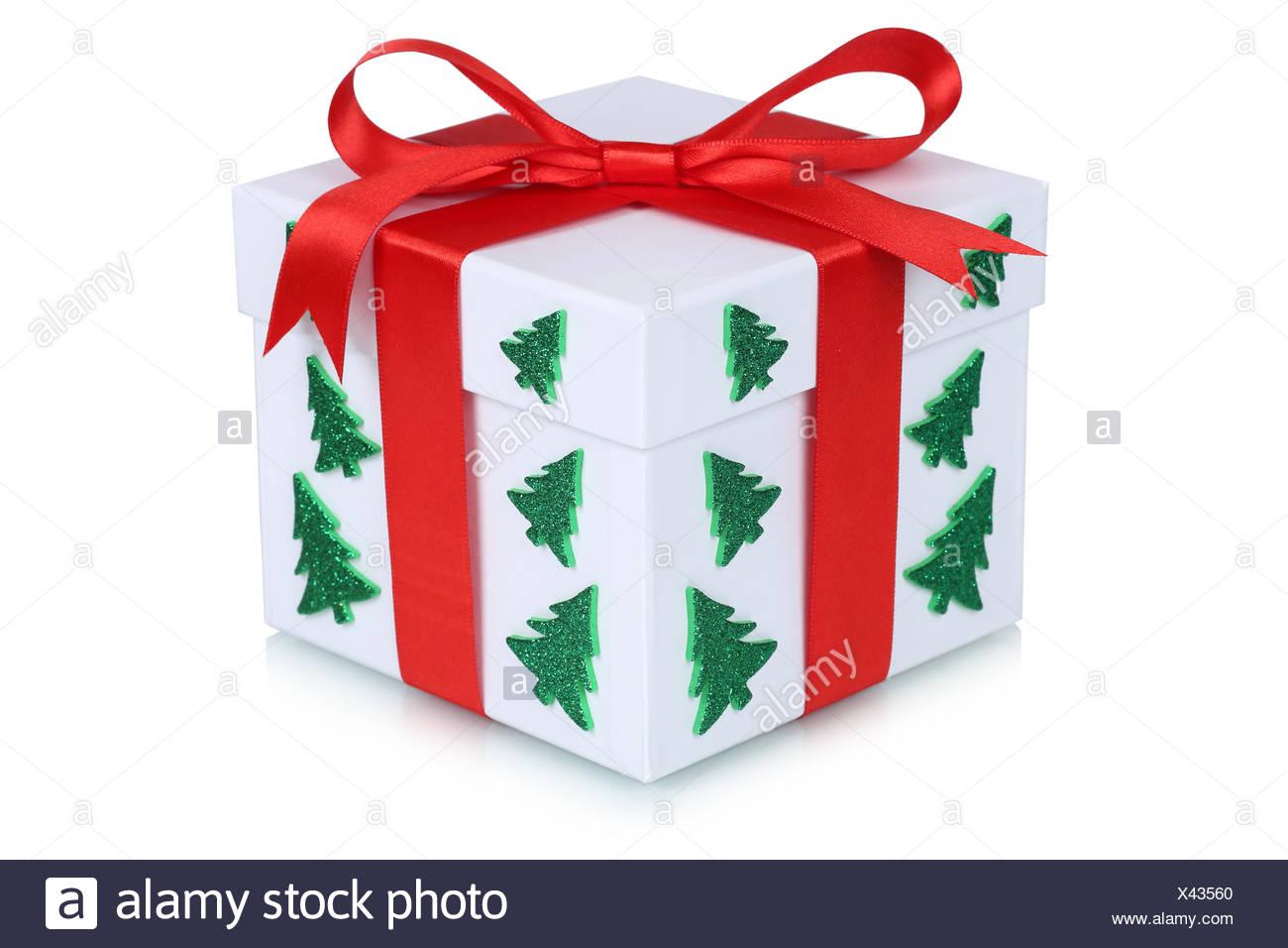 Weihnachtsgeschenk Geschenk Weihnachten Weihnachtsbaum Freisteller ...