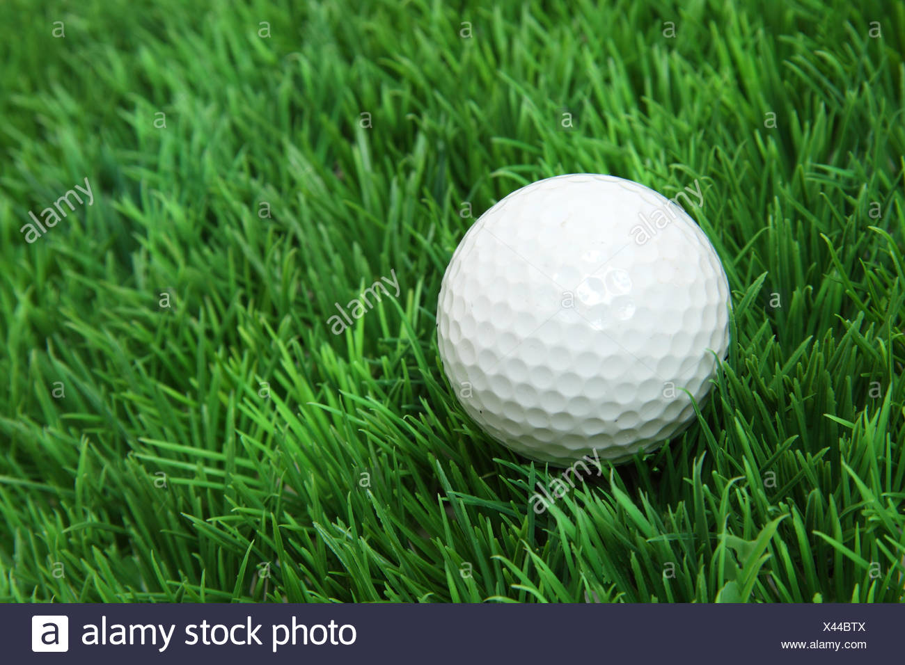 Golfball - Stock Image
