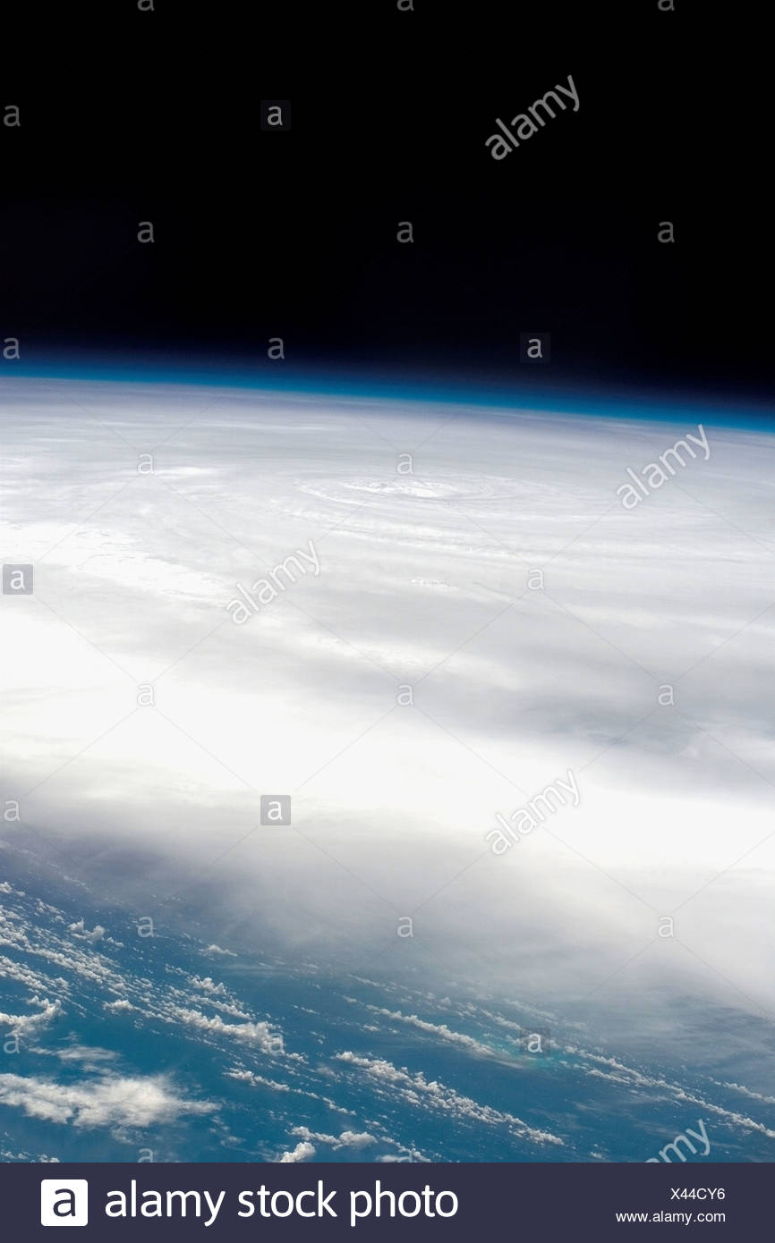 Hurricane Dean From Space - Stock Image