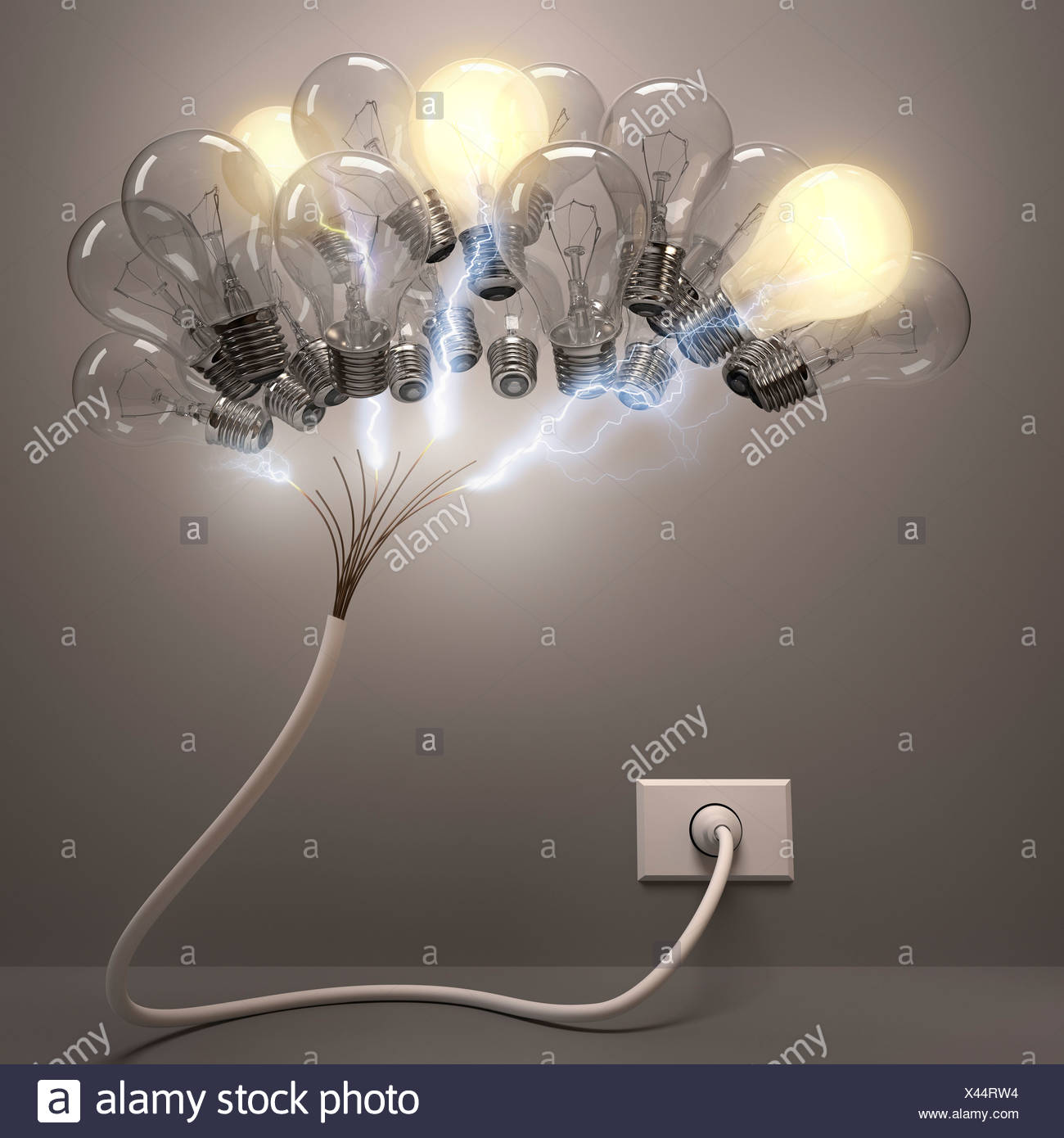 Creativity, conceptual artwork - Stock Image