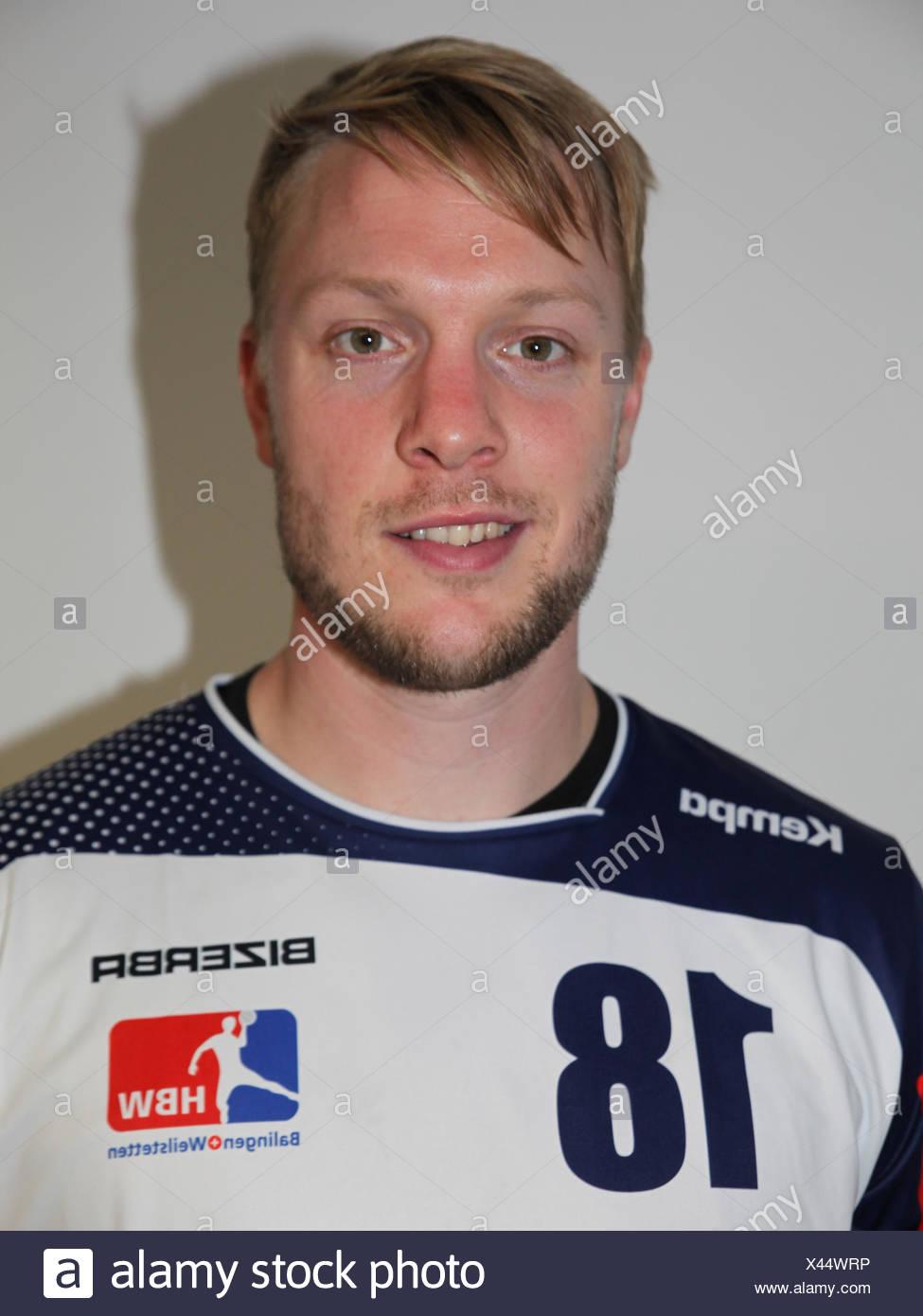 Julian Krieg (HBW Balingen-Weilstetten) - Stock Image