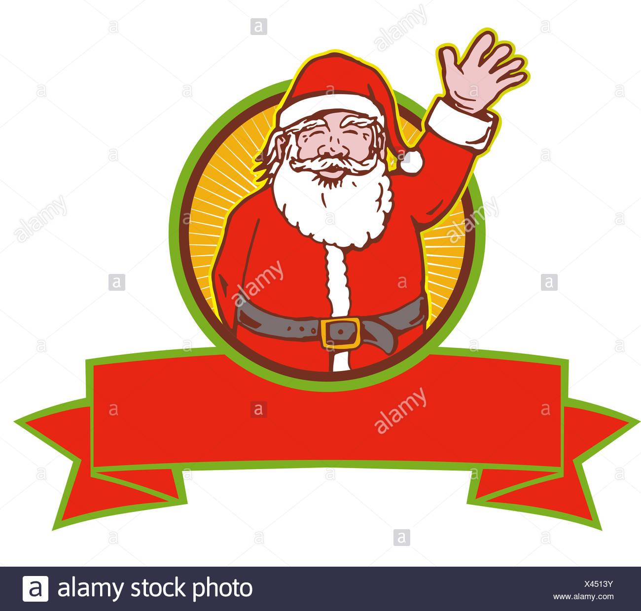 Father Christmas Cartoon Images.Santa Claus Father Christmas Cartoon Stock Photo 277935167