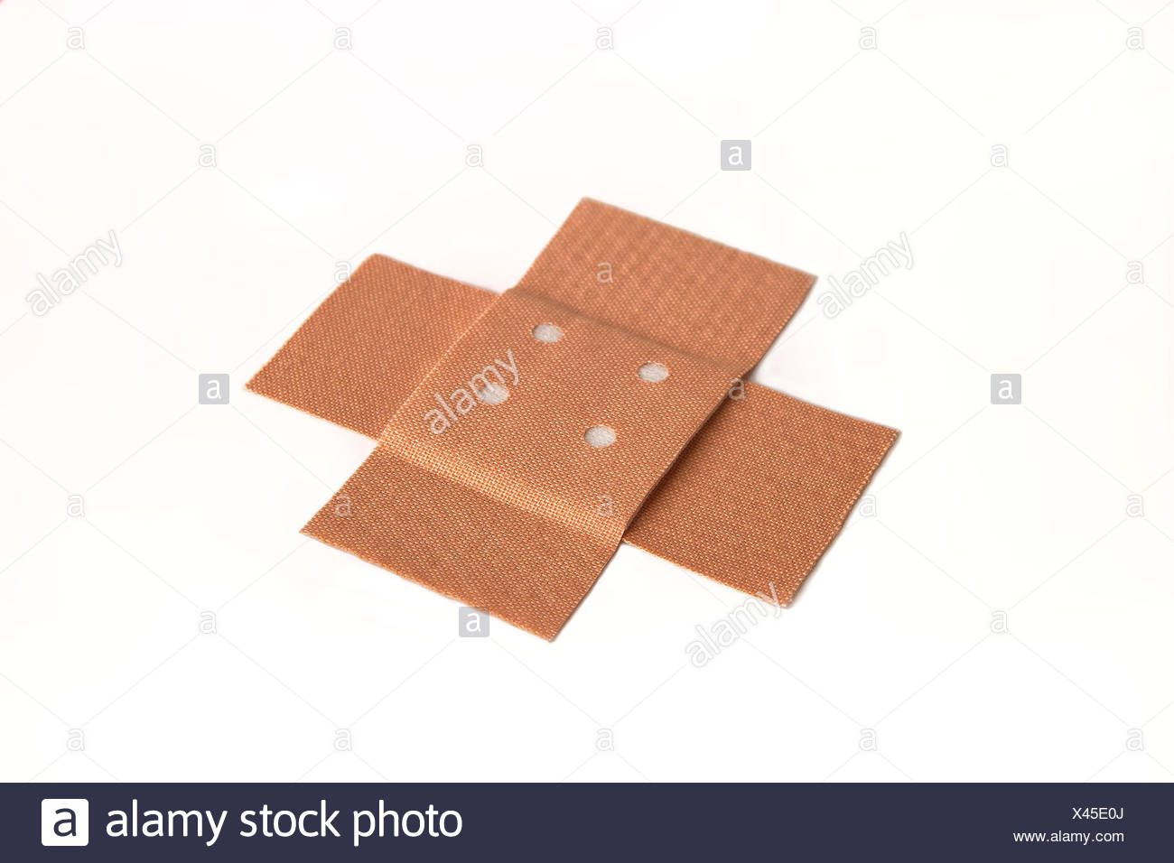adhesive bandage,plaster,examining Stock Photo