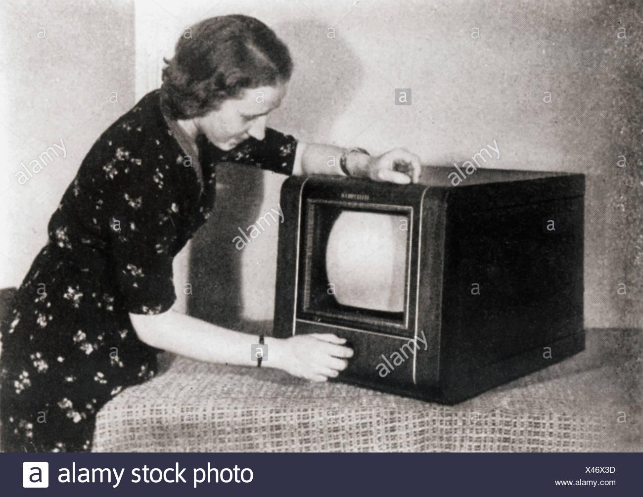 Telefunken Germany 1930s Stock Photos & Telefunken Germany 1930s