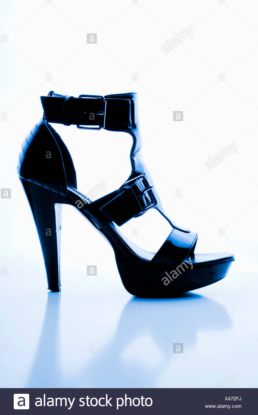 Spike heel - Stock Image