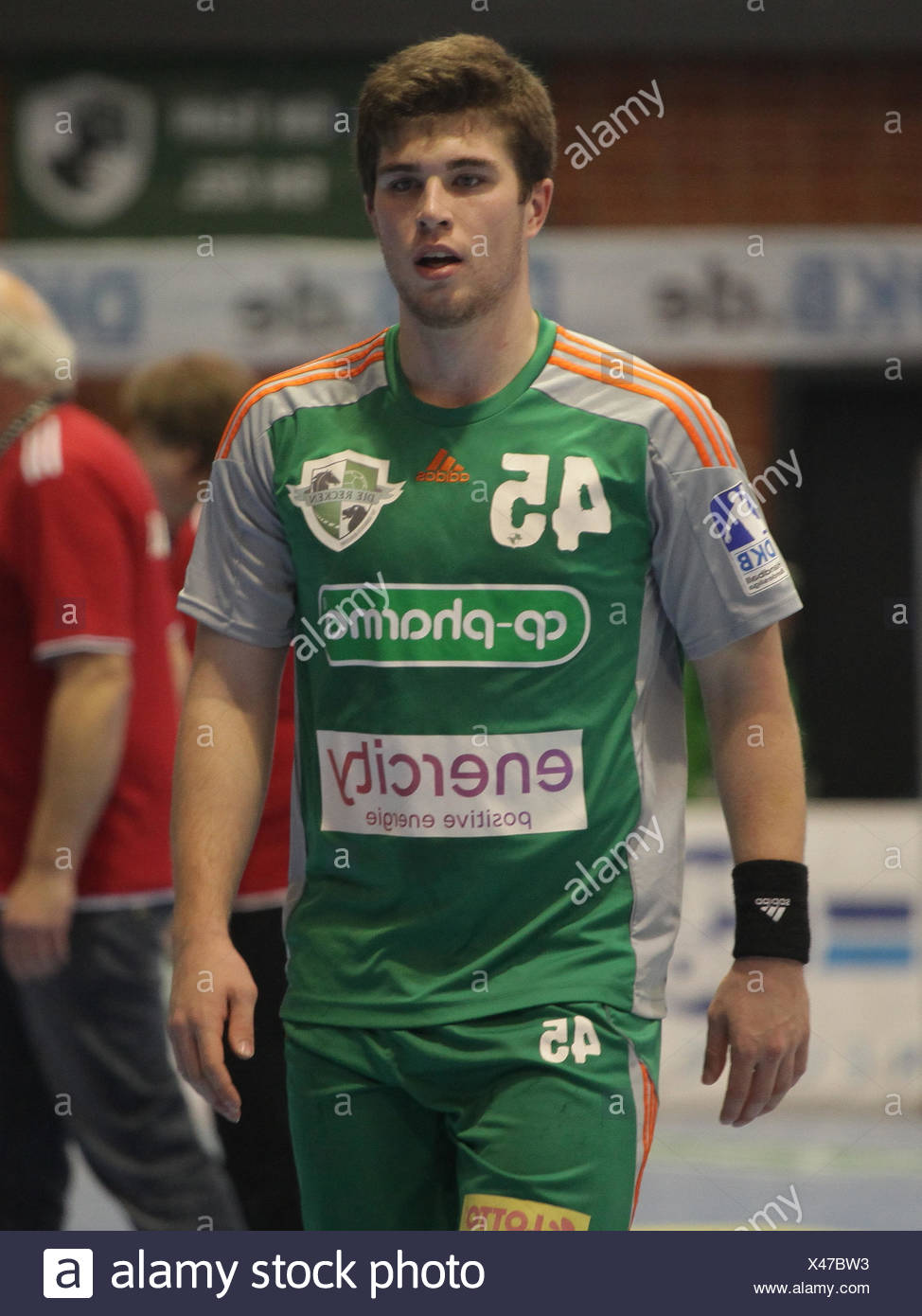 Hendrik Pollex - TSV Hannover Burgdorf - Stock Image