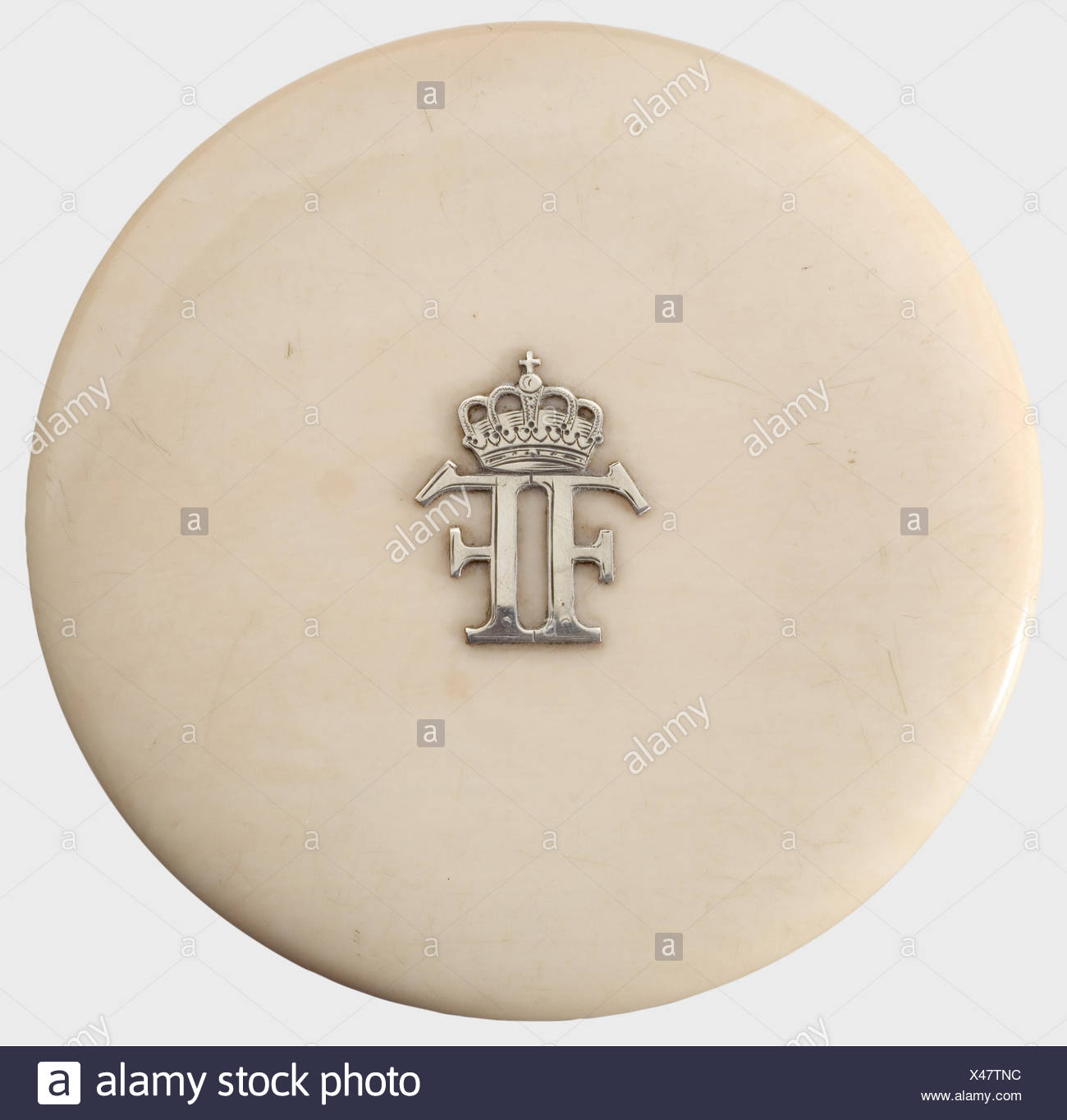Grand Duke Franz Ferdinand of Austria-Este (1863 - 1914), an ivory
