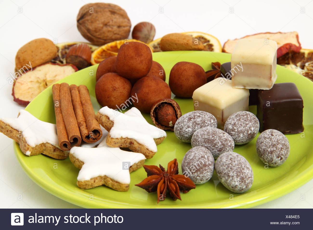 Filberts Christmas Christmas Cookies Marzipan Sweets Pastry Nuts