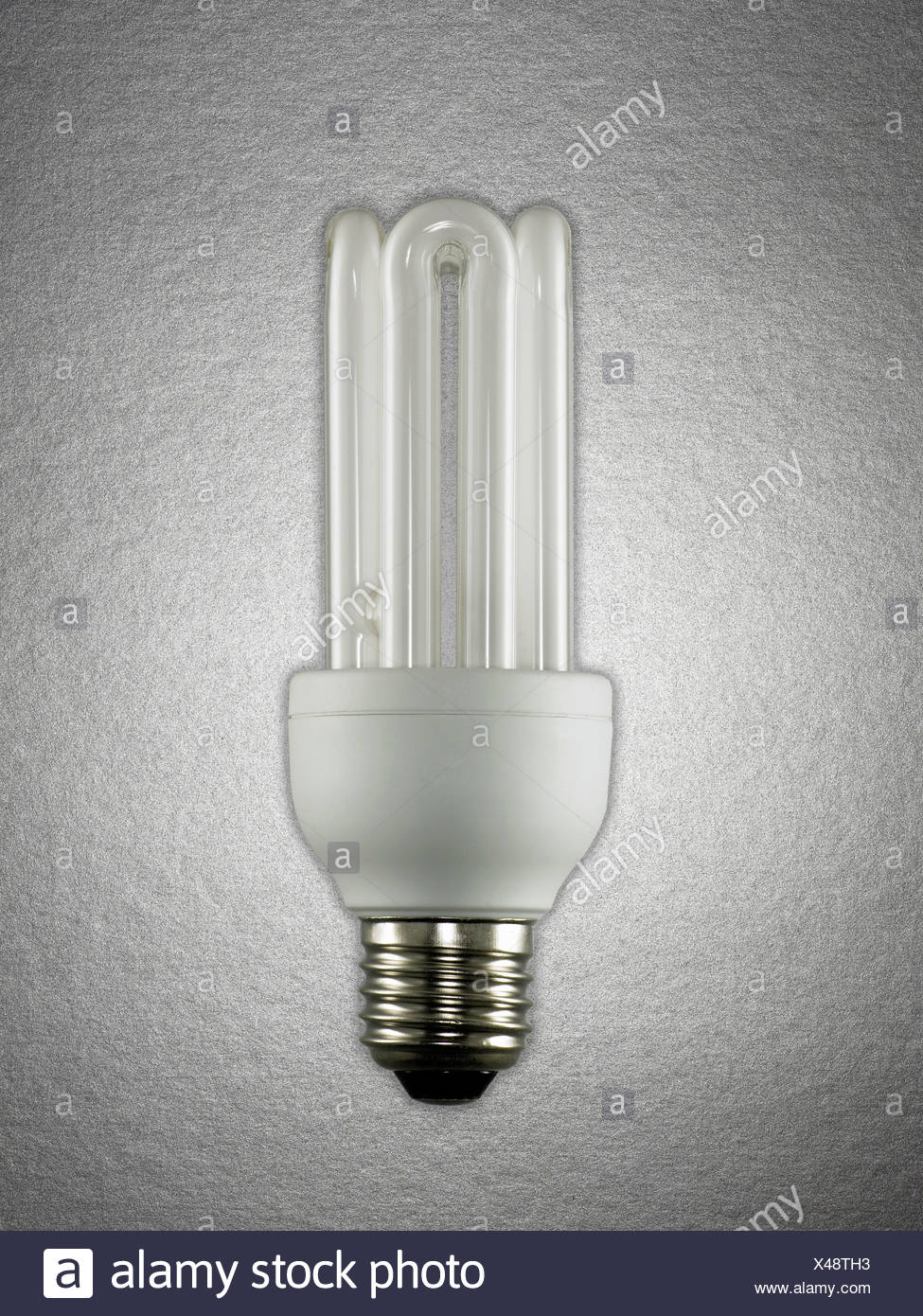 Energy efficient lightbulb - Stock Image
