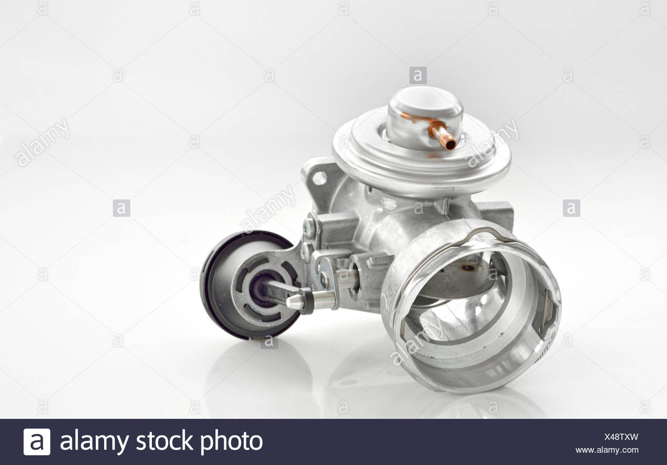 throttle isolated Stock Photo