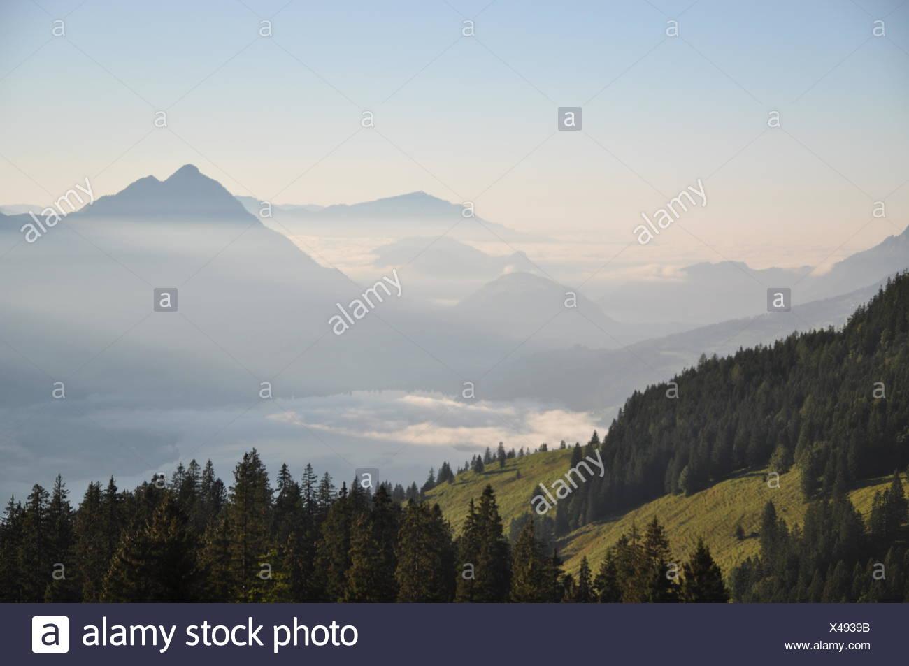 wetter in den alpen
