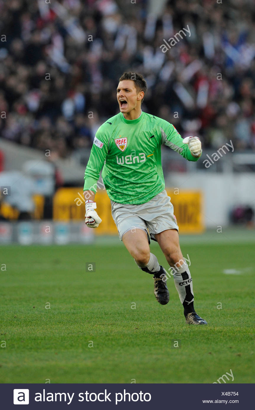 Goalkeeper Sven ULREICH VfB Stuttgart - Stock Image
