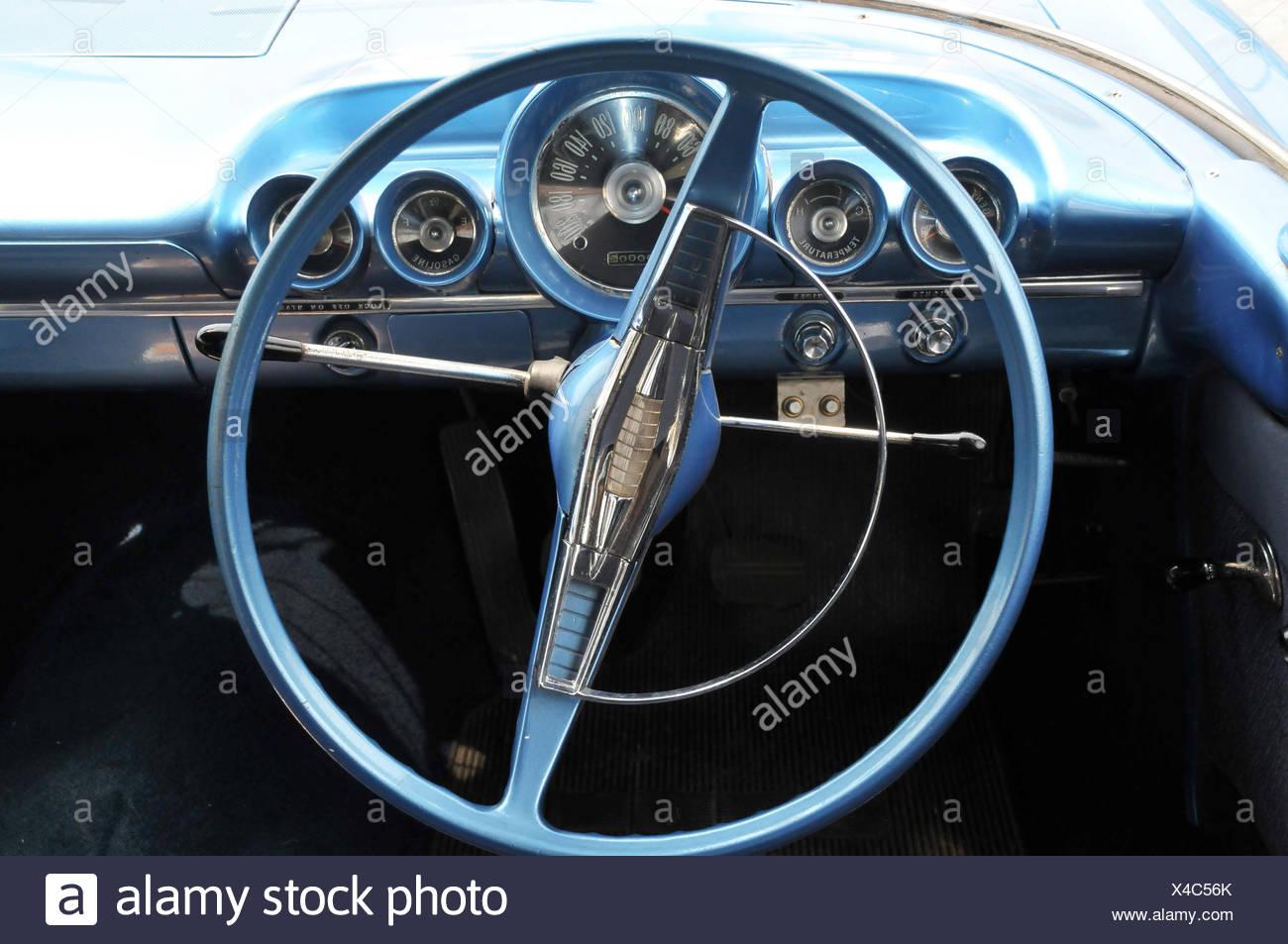 Automobile panel, car, São Paulo, Brazil - Stock Image