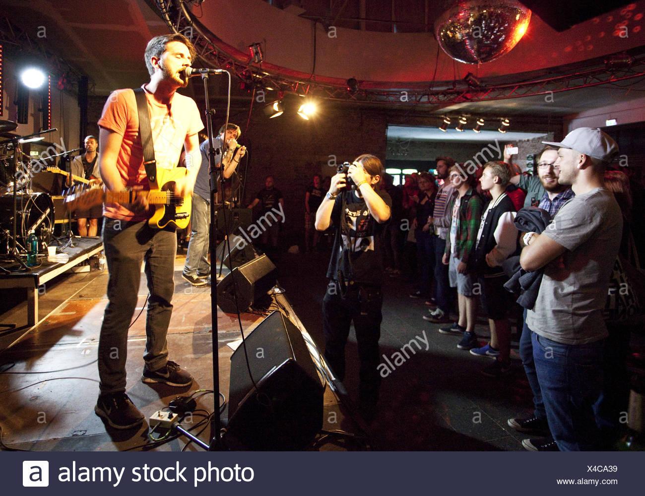 Concert in the Rotunda in Bochum, Germany. - Stock Image