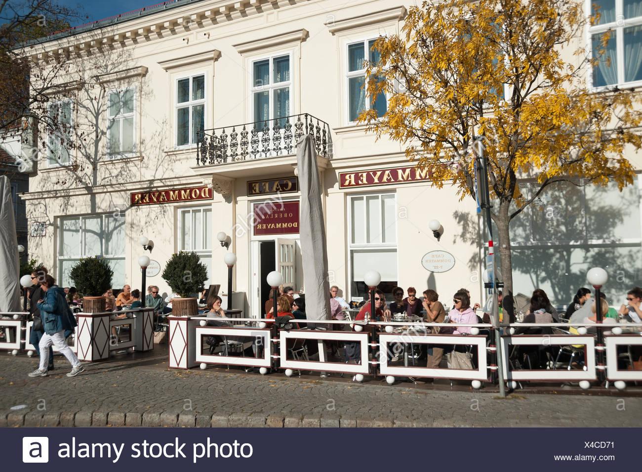 Wien, Hietzing, Cafe Dommayer - Stock Image