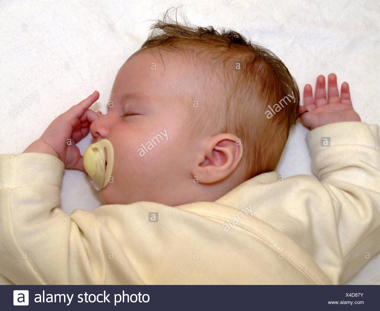 Schlaf / to sleep - Stock Image